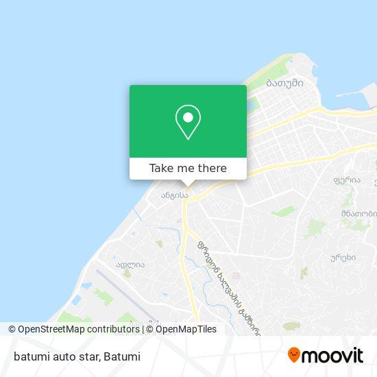 batumi auto star map