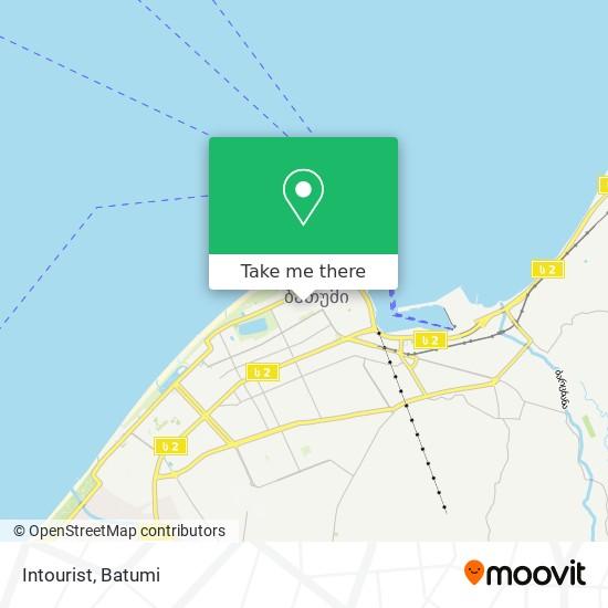 Intourist map