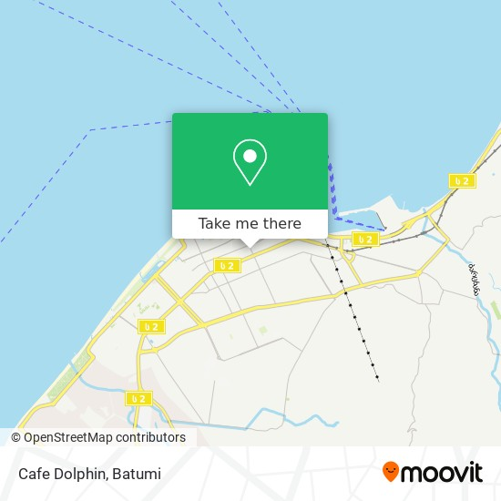 Cafe Dolphin map