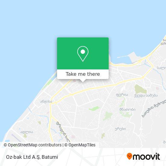 Oz-bak Ltd A.Ş map