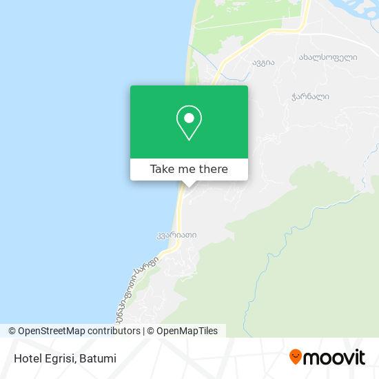Hotel Egrisi map