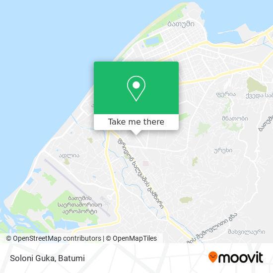 Soloni Guka map