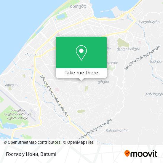 Карта Гостях у Нони