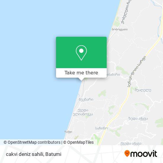 cakvi deniz sahili map