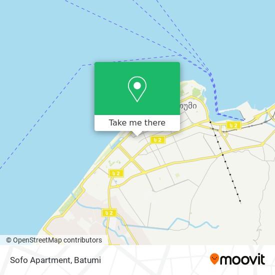 Sofo Apartment map