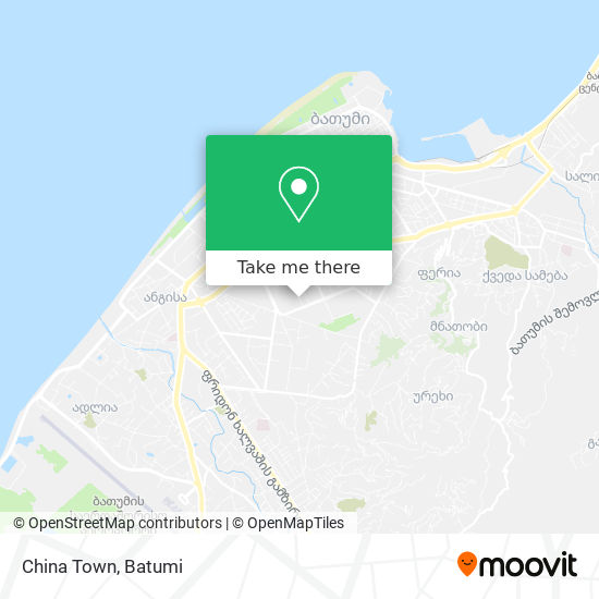 Карта China Town