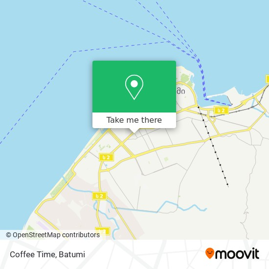 Coffee Time map