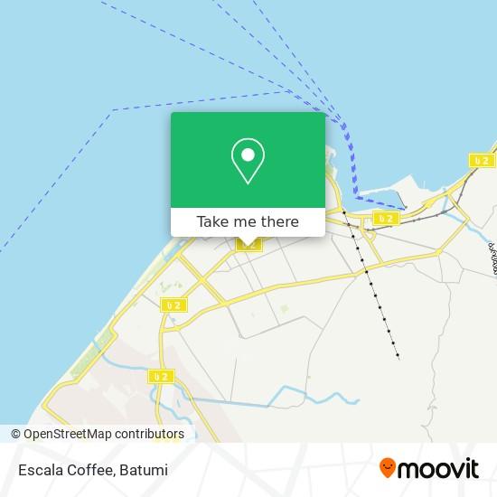 Карта Escala Coffee