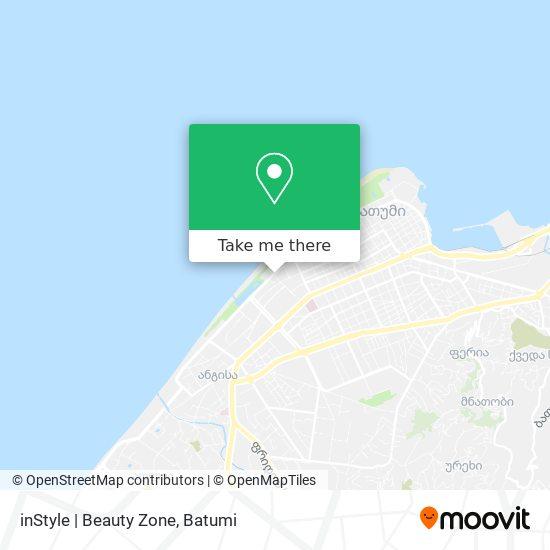 Карта inStyle | Beauty Zone