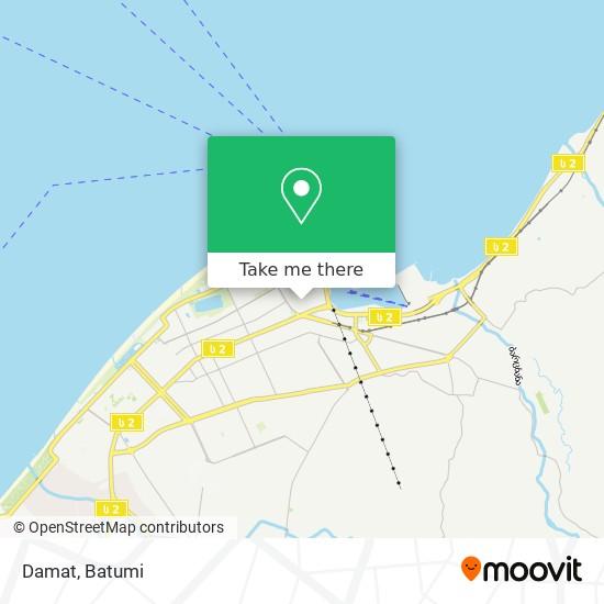 Damat map