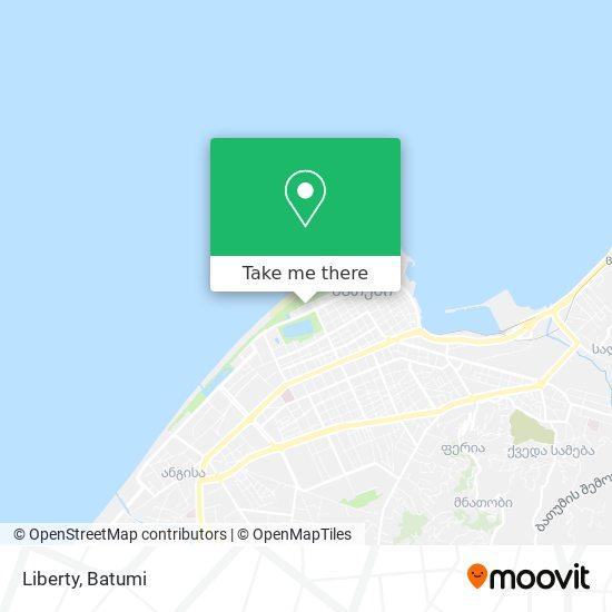 Карта Liberty
