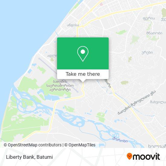 Liberty Bank map