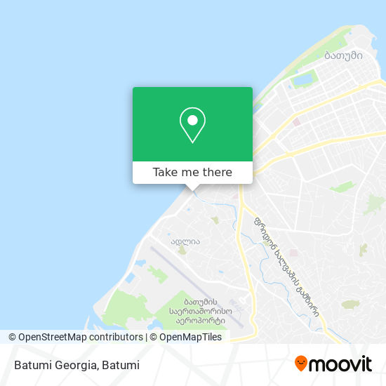 Карта Batumi Georgia