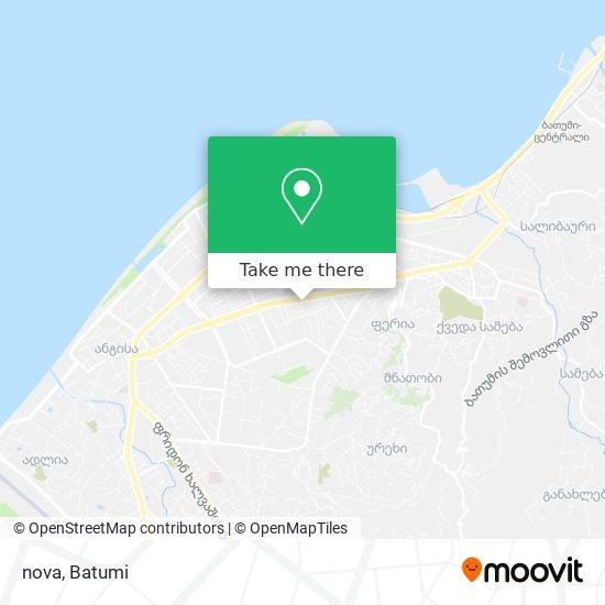 nova map