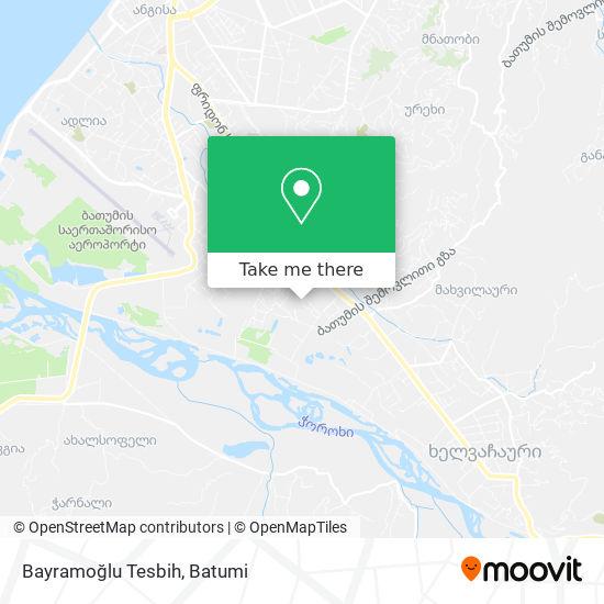 Карта Bayramoğlu Tesbih