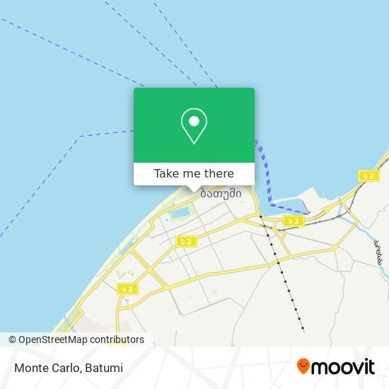 Карта Monte Carlo
