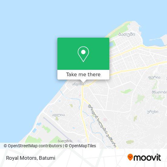 Карта Royal Motors