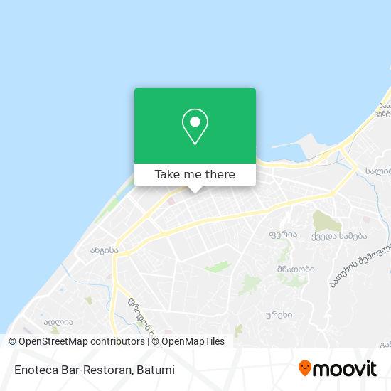 Карта Enoteca Bar-Restoran