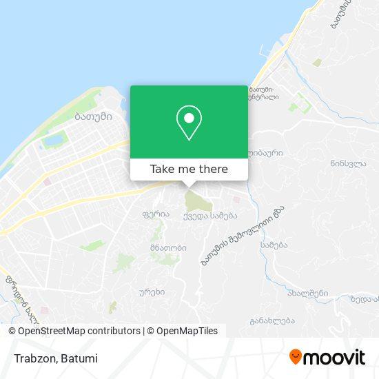 Trabzon map