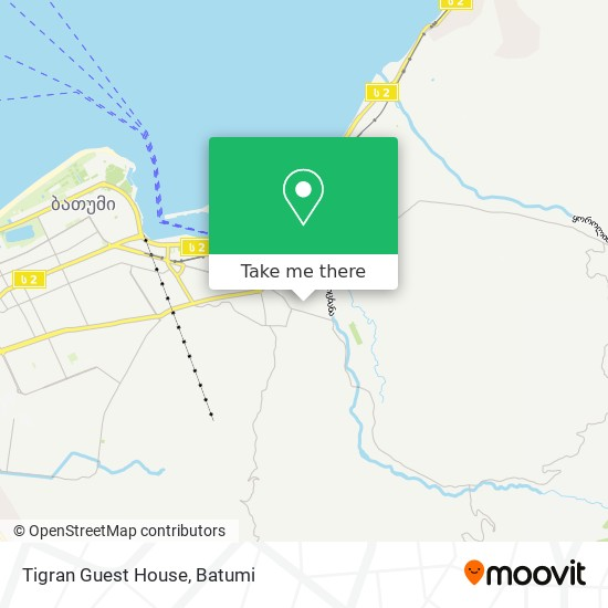 Tigran Guest House map