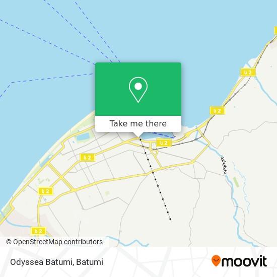 Карта Odyssea Batumi