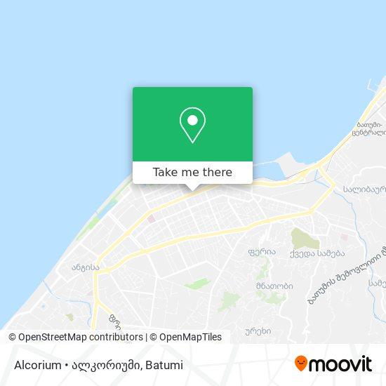 Карта Alcorium • ალკორიუმი