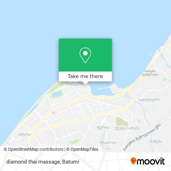 diamond thai massage map