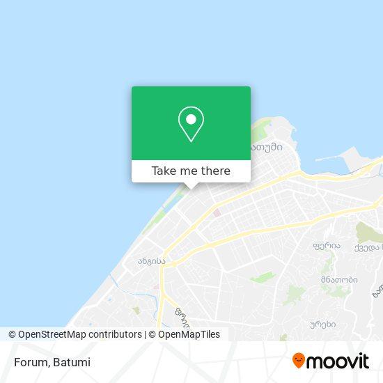 Карта Forum