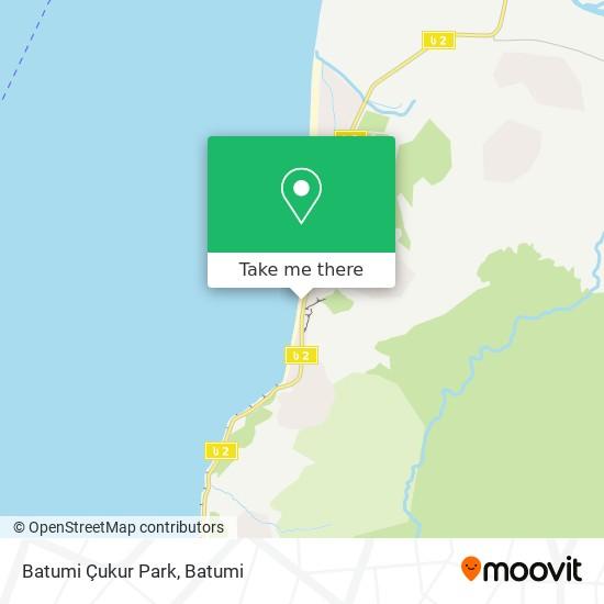 Batumi Çukur Park map