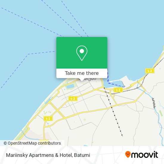 Mariinsky Apartmens & Hotel map