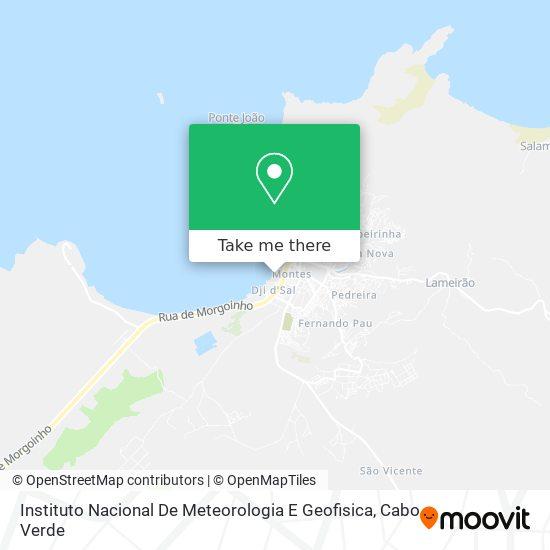 Instituto Nacional De Meteorologia E Geofisica mapa