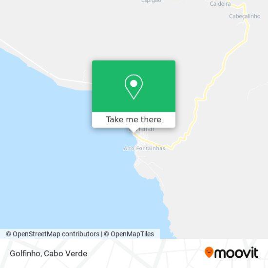 Golfinho mapa