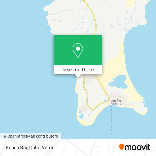 Beach Bar mapa