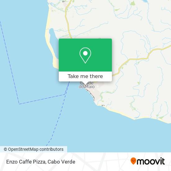 Enzo Caffe Pizza mapa