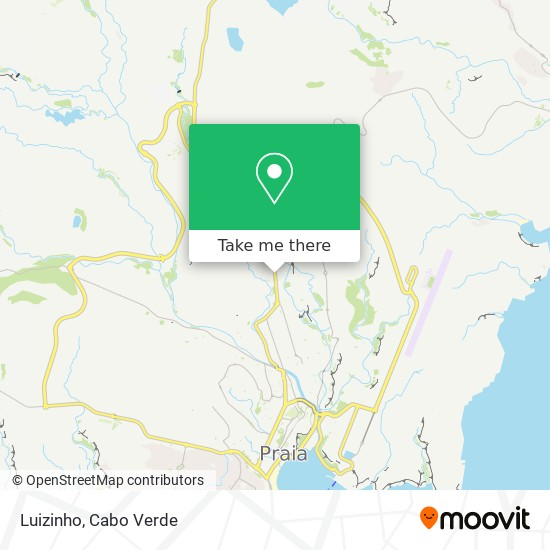 Luizinho mapa