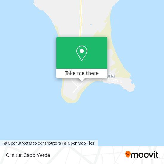 Clinitur mapa