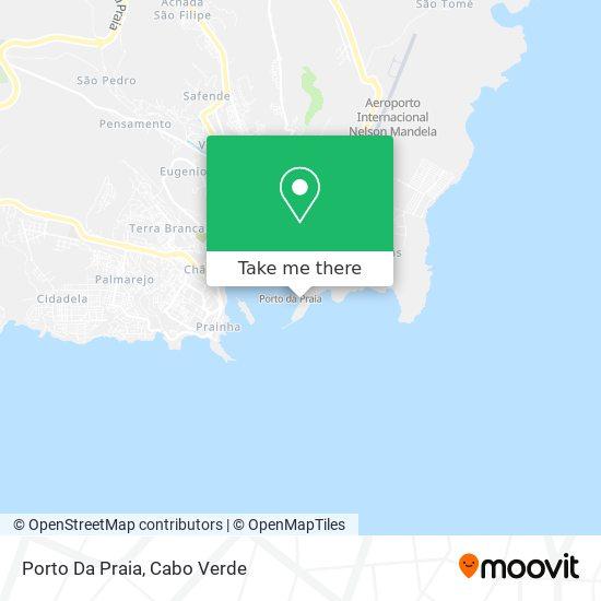 Porto Da Praia mapa
