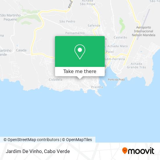 Jardim De Vinho mapa