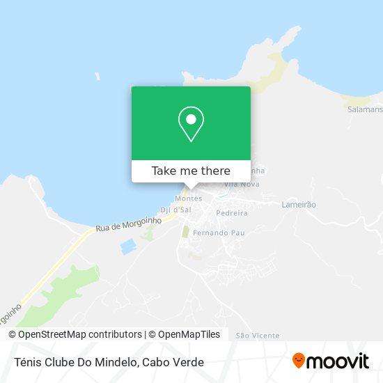 Ténis Clube Do Mindelo mapa