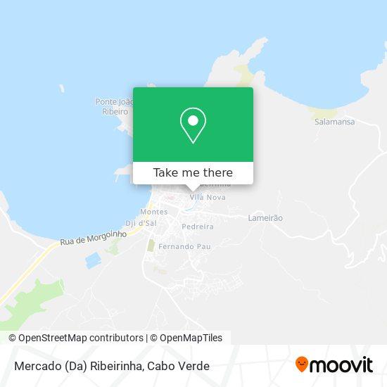 Mercado (Da) Ribeirinha mapa