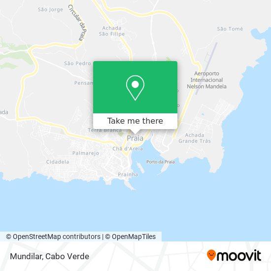 Mundilar mapa