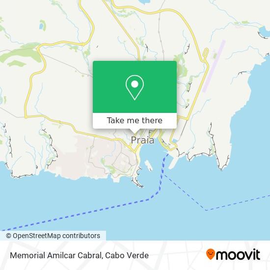 Memorial Amilcar Cabral mapa