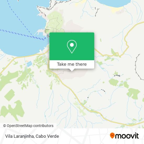 Vila Laranjinha mapa
