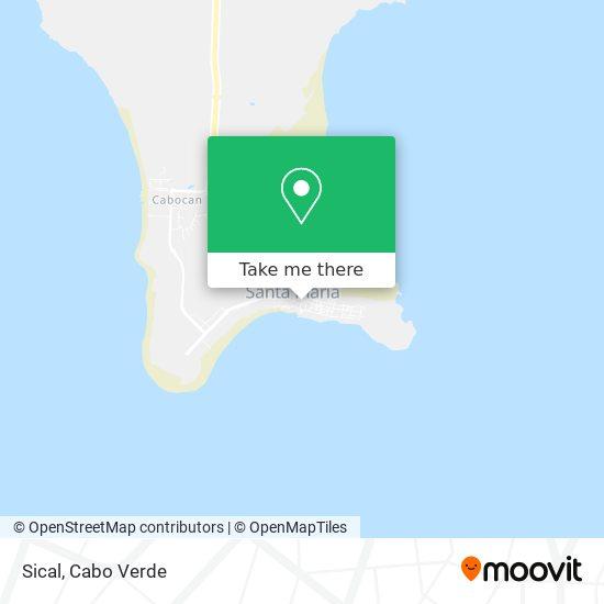 Sical mapa