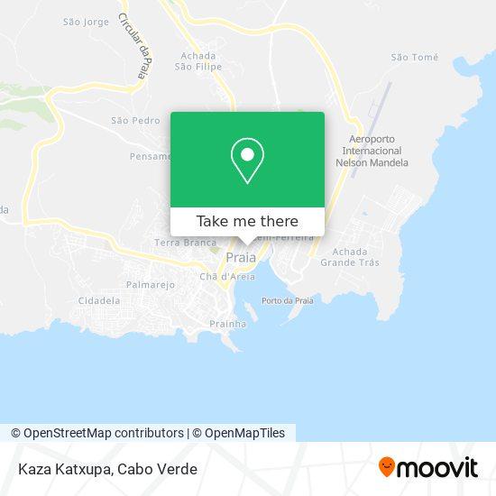 Kaza Katxupa mapa