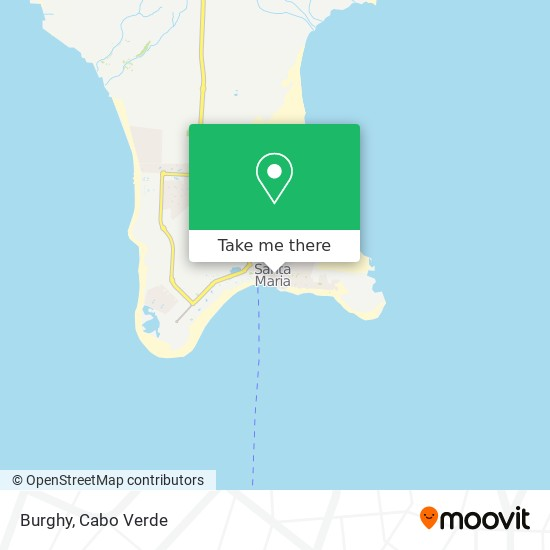 Burghy mapa