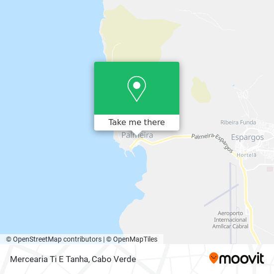 Mercearia Ti E Tanha mapa