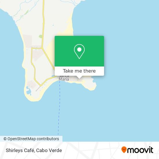 Shirleys Café mapa