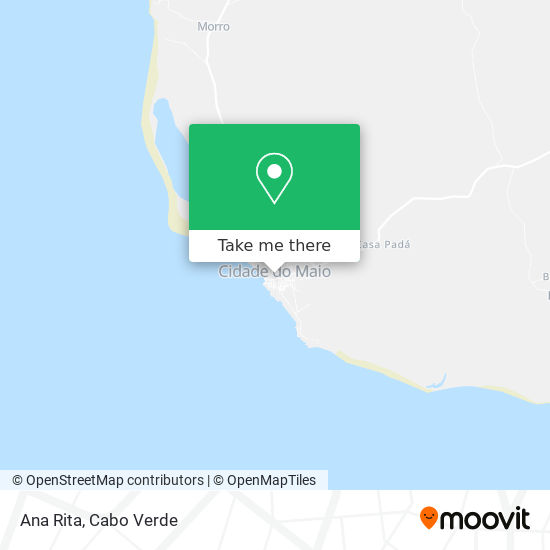 Ana Rita mapa