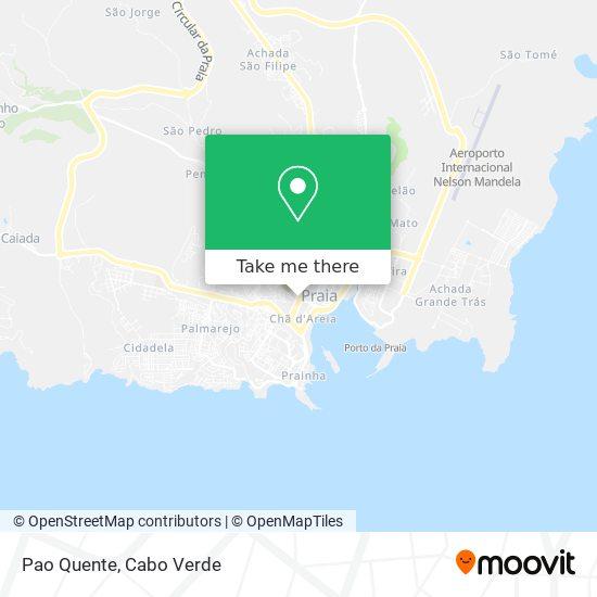 Pao Quente mapa